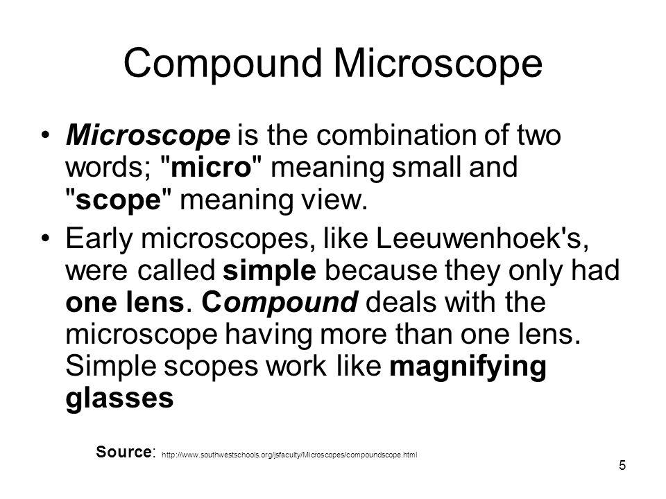 COMPOUND MICROSCOPE Dr. Jamba Gyeltshen 7/9/ ppt video online download