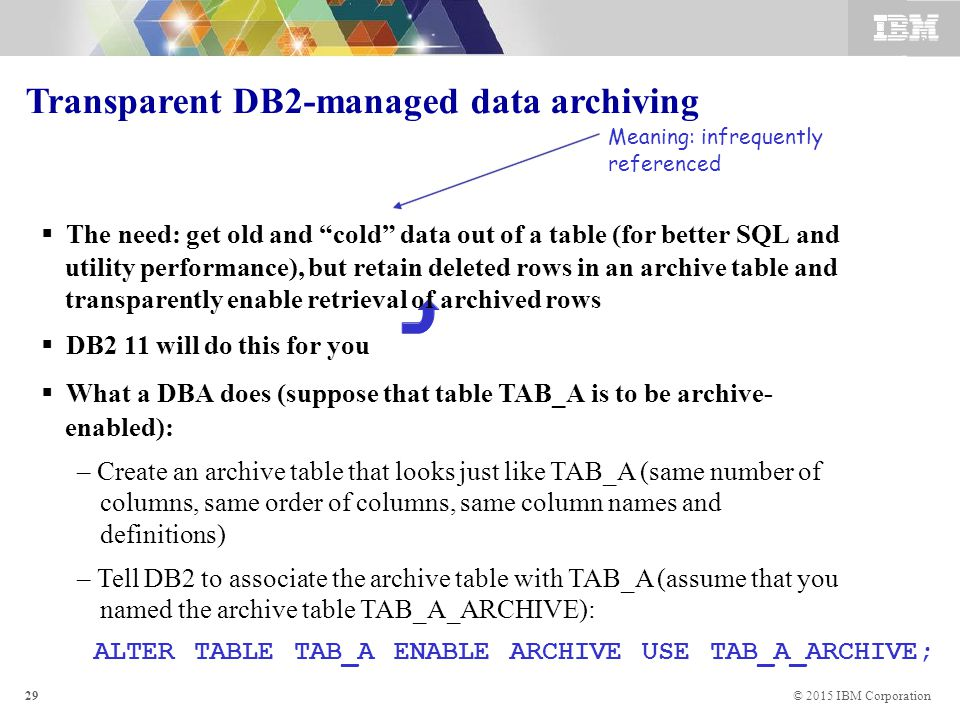 Application-enabling features of DB2 10 and 11 for z/OS