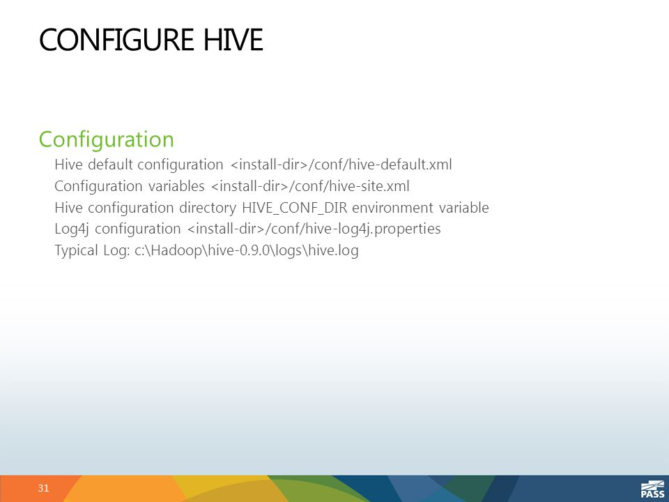 SQLCAT: Big Data – All Abuzz About Hive - ppt download