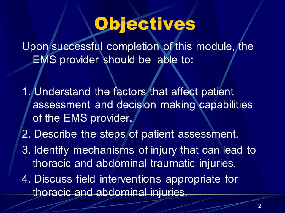 53a516ebf172 Objectives Upon successful completion of this module