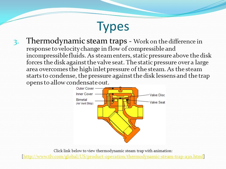 Steam Traps Function and Types. - ppt video online download