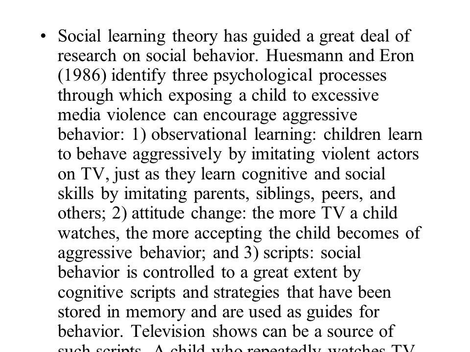 television violence effects on youth essay