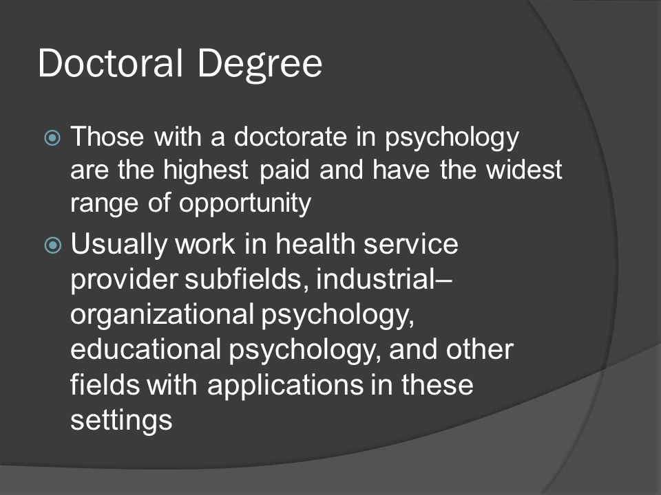 Careers in psychology. - ppt video online download