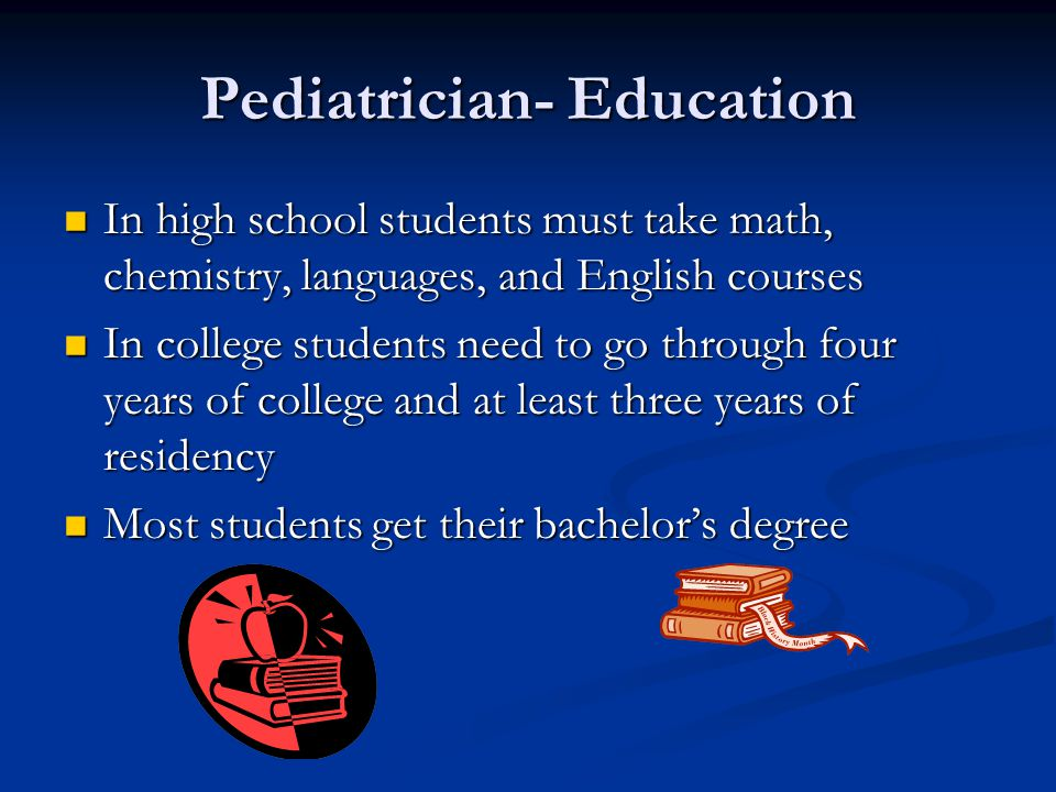 Pediatrician Education Requirements >> Good Jobs For A Good Client Ppt Video Online Download