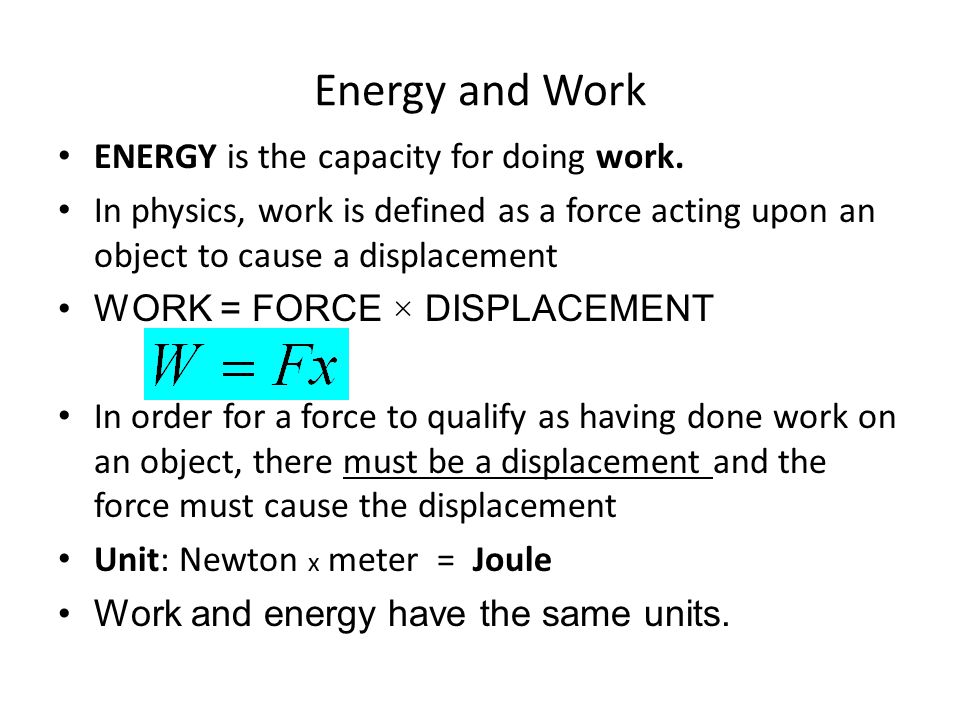 work and energy Know the formula for calculating kinetic energy the formula for calculating kinetic energy (ke) is ke = 05 x mv 2here m stands for mass, the measure of how much matter is in an object, and v stands for the velocity of the object, or the rate at which the object changes its position.