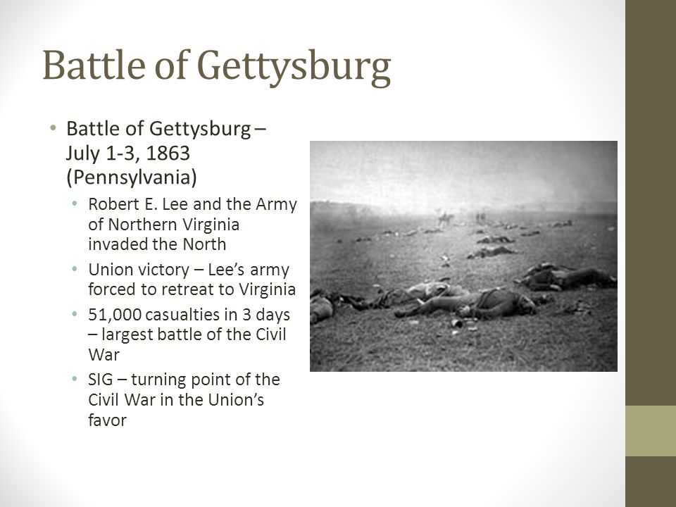 gettysburg turning point of the war essay This informal essay on turning points in civil war history will be presented in parts over the next week a list of sources used will follow the final installment historians have spent considerable time debating which event or events constituted the turning point of the civil war.