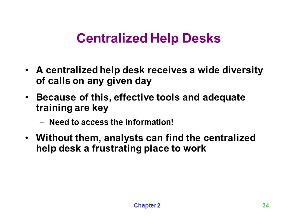 A Guide to Help Desk Concepts, Second Edition - ppt video online ...