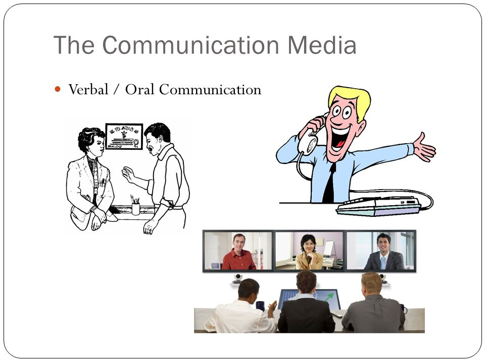 The Communication Media