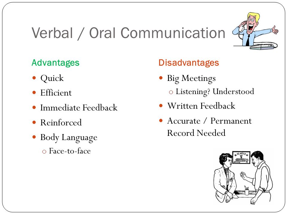 advantages and disadvantages of body language communication