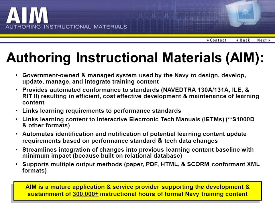 1 Report Status Of Traditional And Modernized Aim Ppt Video