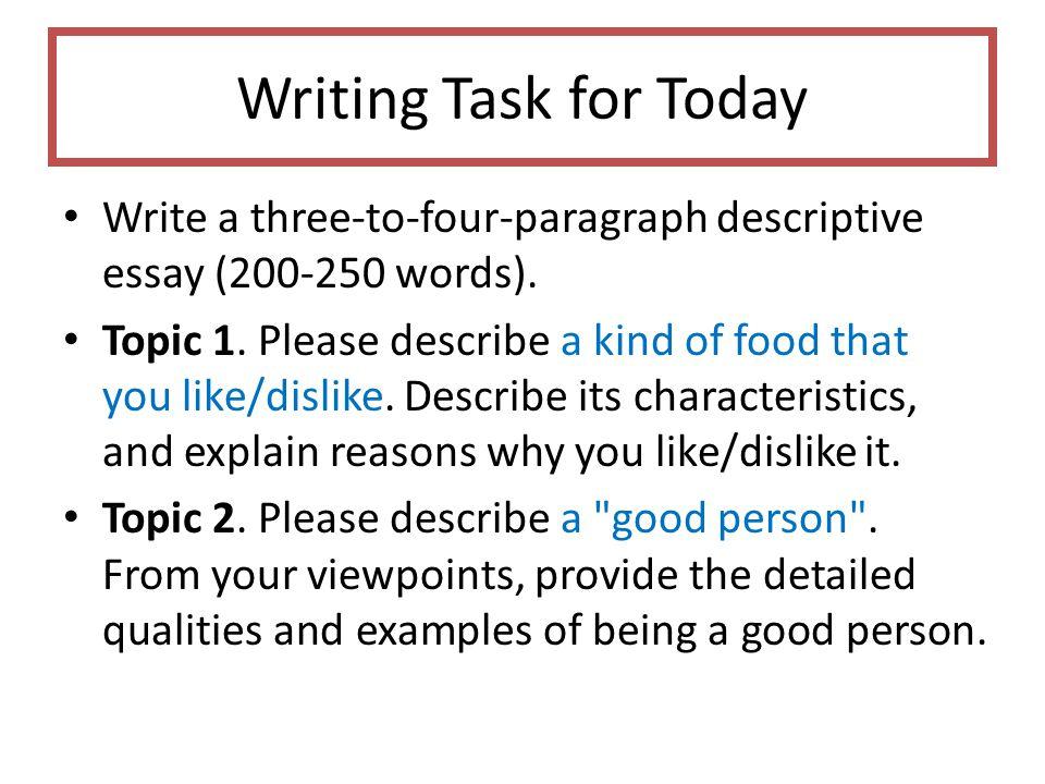 Unit 2. Descriptive Essays - ppt video online download