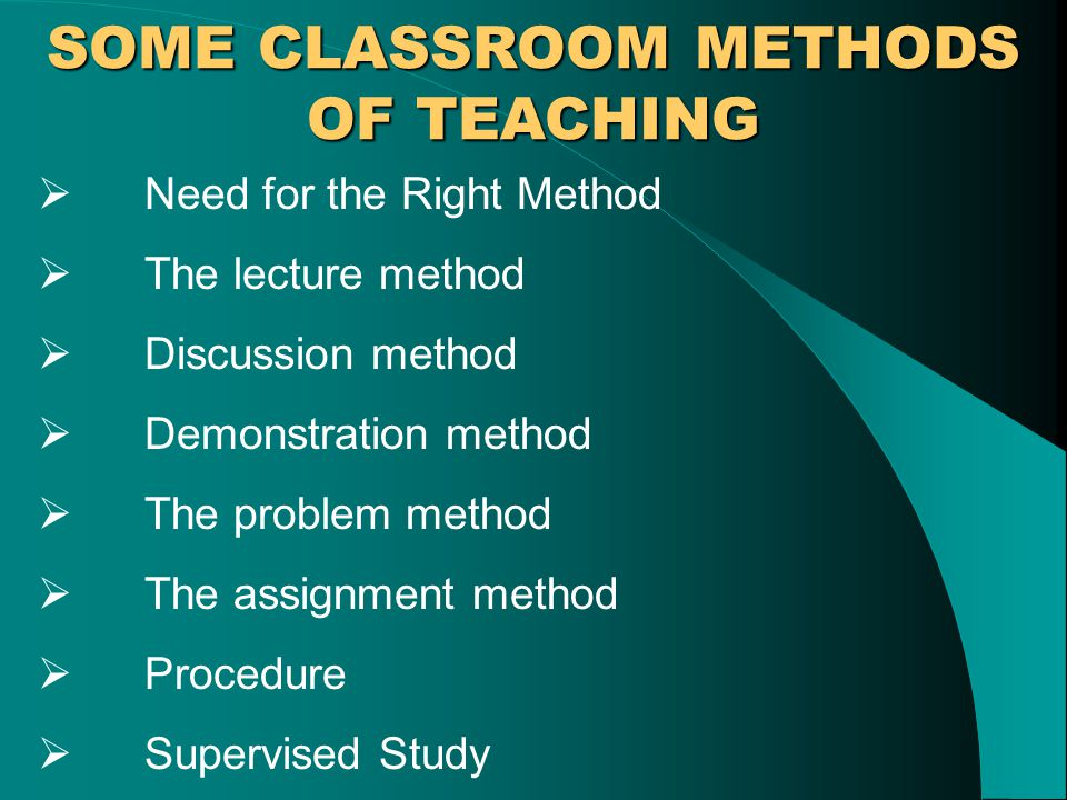 METHODS AND TECHNIQUES OF TEACHING BY SK KOCHHAR  - ppt download