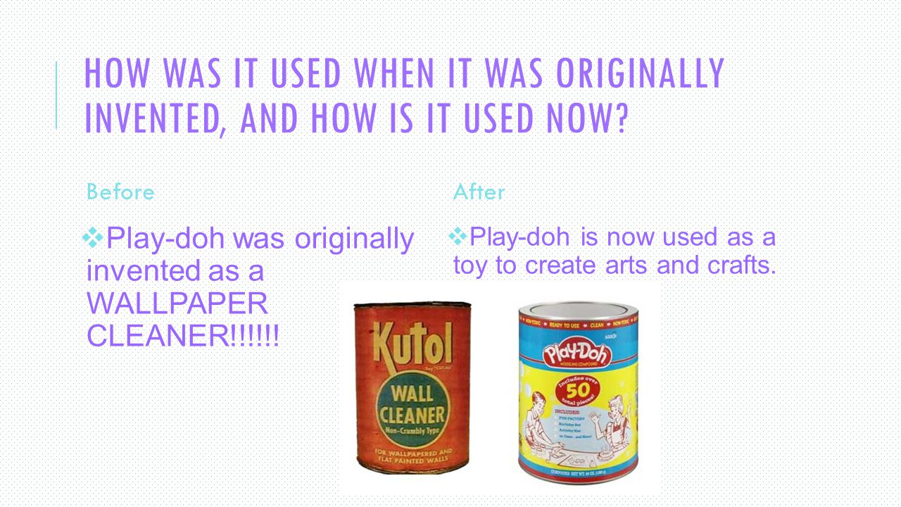 The Creation Of Play Doh Ppt Video Online Download