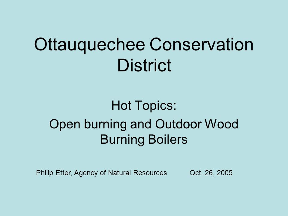 Ottauquechee Conservation District