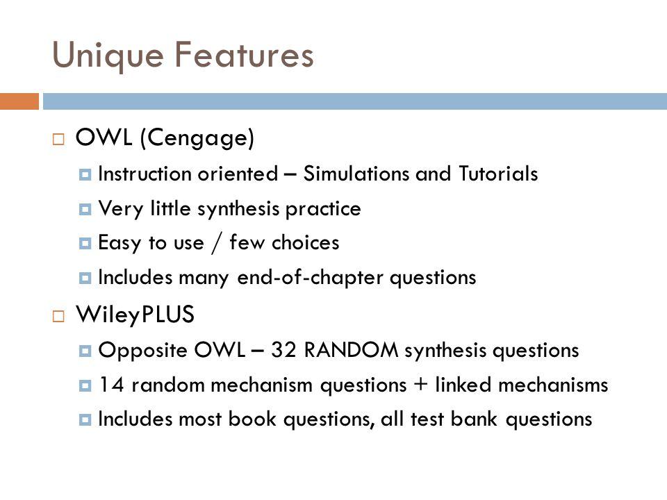 owl cengage organic chemistry answer key