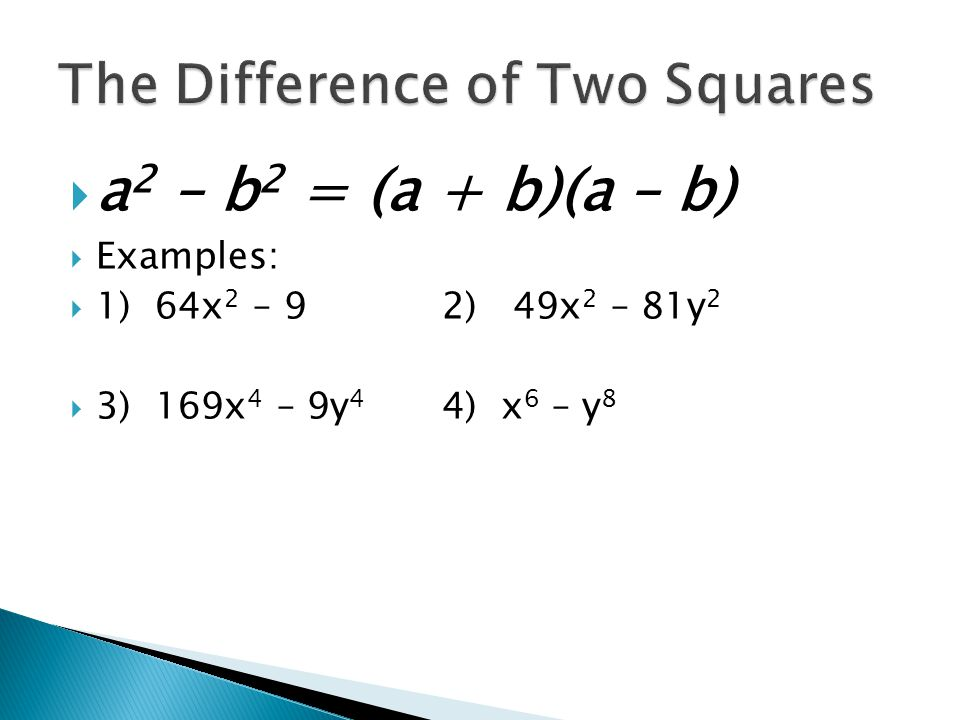 Image result for special factoring