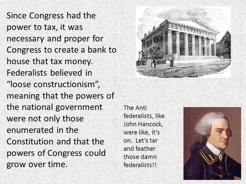 The Fight Over Power – Part II Federalists vs - ppt video