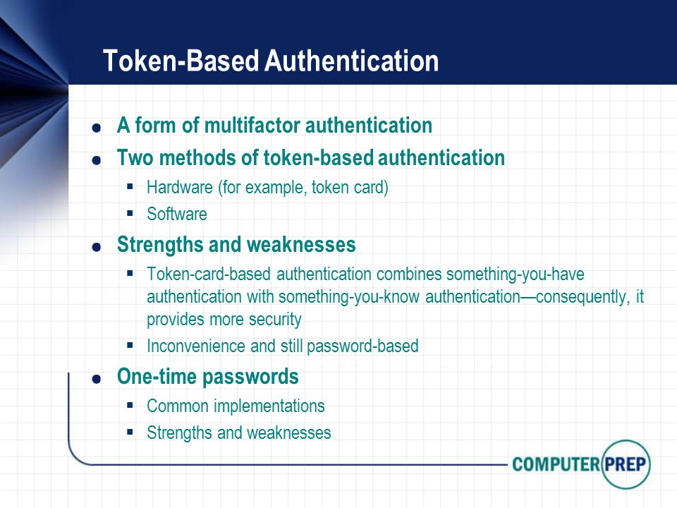 Security+ Lesson 1 Authentication Methods  - ppt download