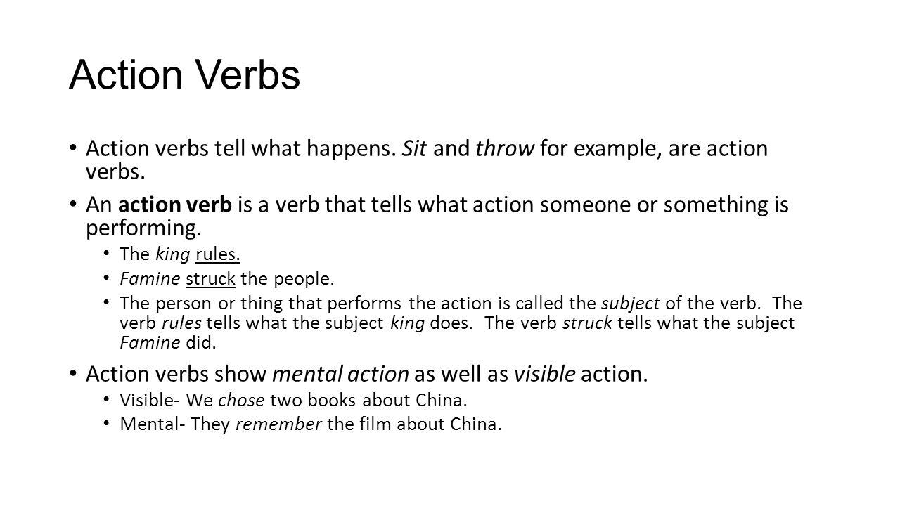 parts of speech verbs english ppt download