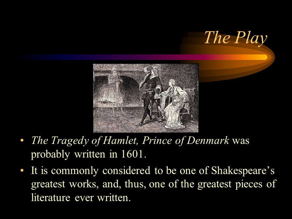 hamlet was written by