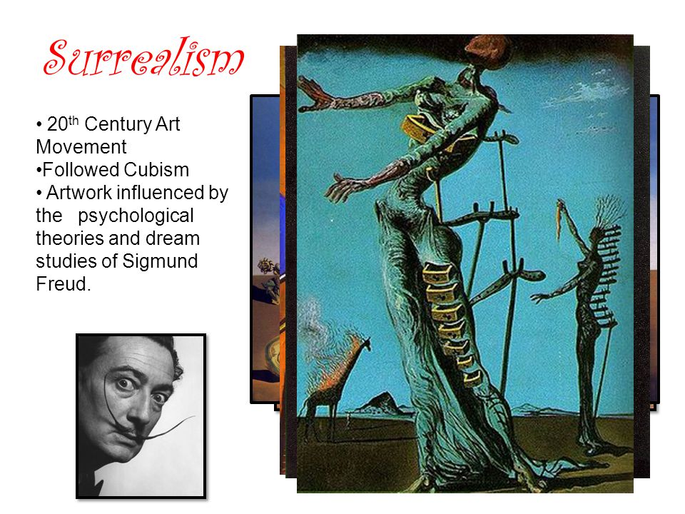 Surrealism 20th Century Art Movement Followed Cubism