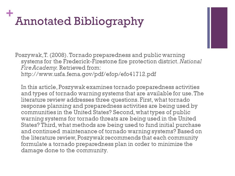 what are the types of bibliography