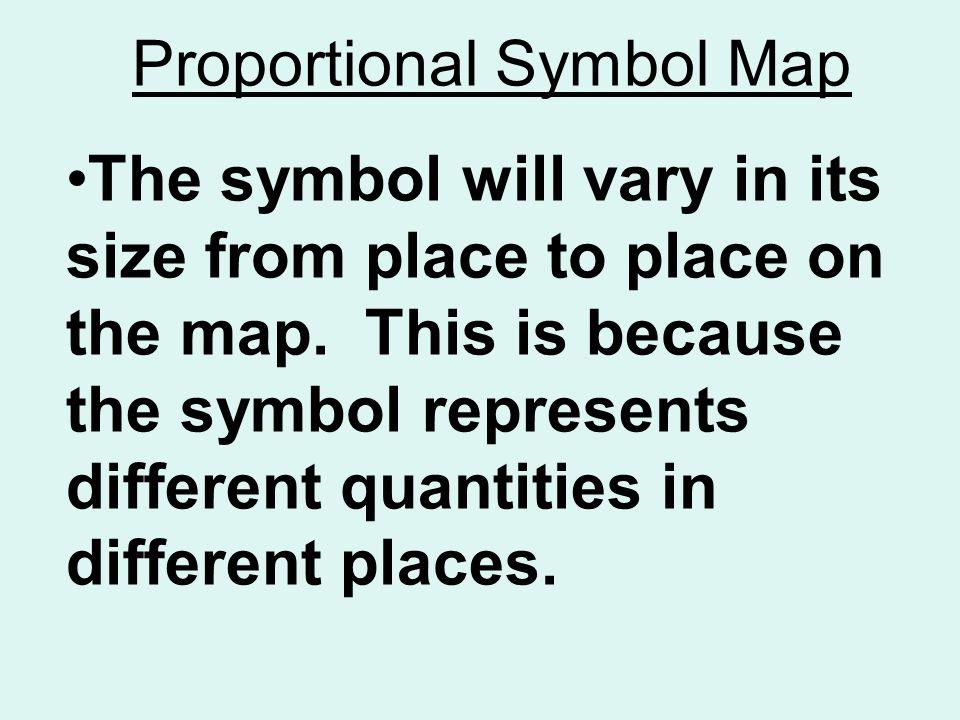 Thematic Maps Choropleth Proportionalgraduated Symbol Digital