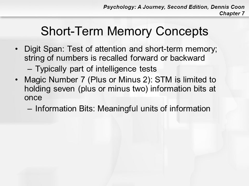 Chapter 7 Memory Ppt Video Online Download
