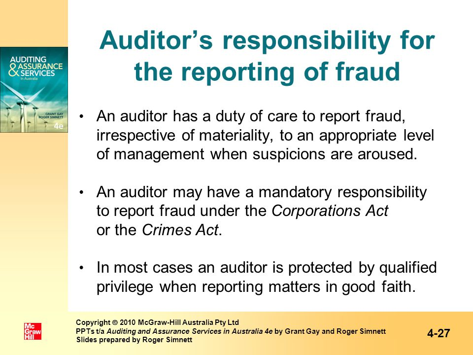 Chapter 4 The Legal Liability Of Auditors Ppt Video Online Download
