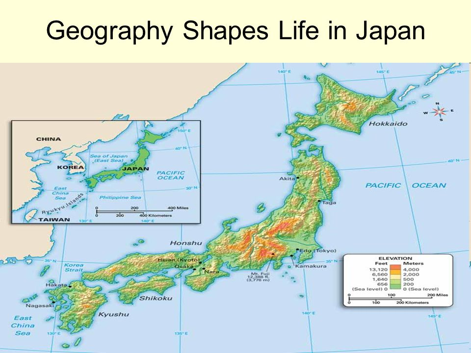 Geography and Early Japan Section 1 Pg ppt download