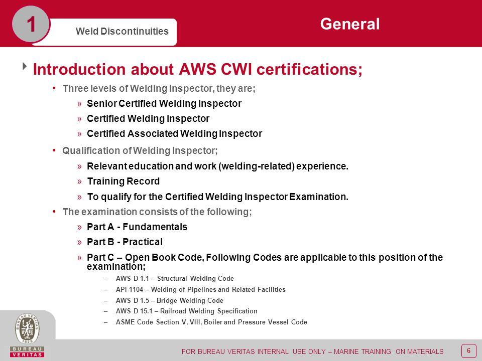 duties of welding inspector pdf