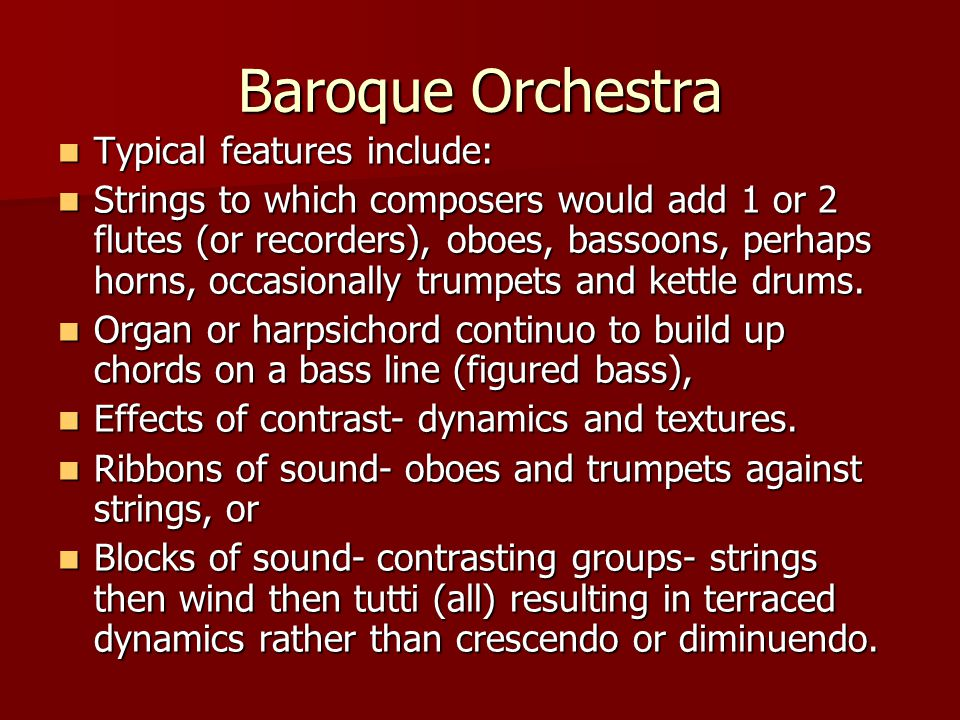BAROQUE MUSIC. - ppt video online download