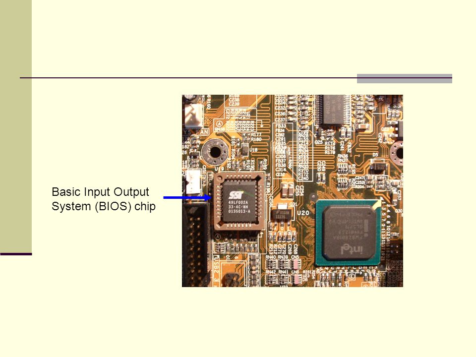 Basic Input Output System (BIOS) chip