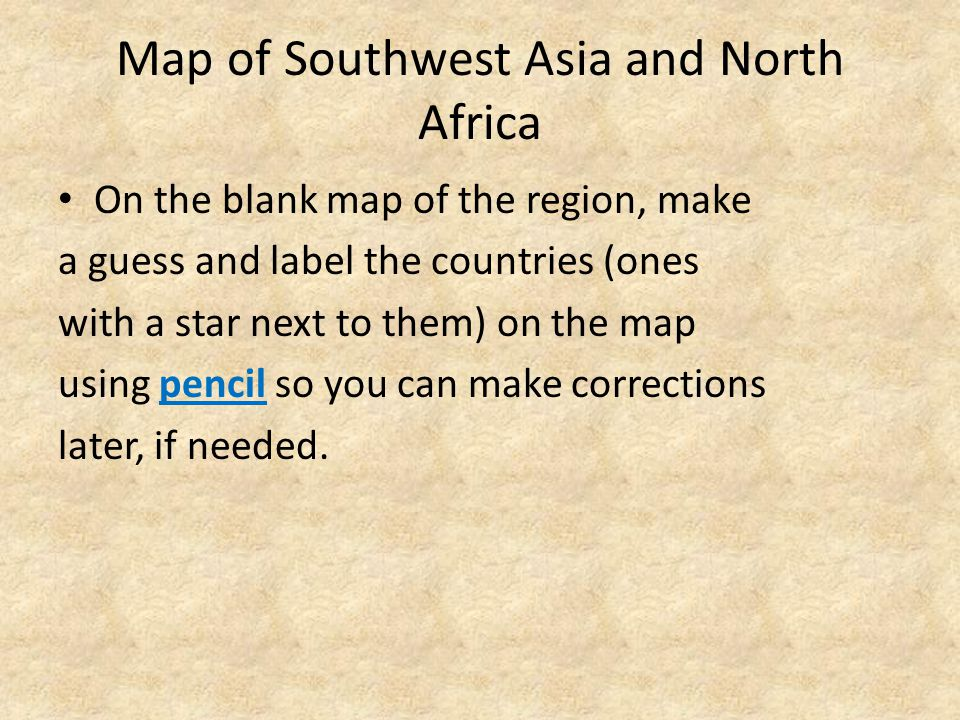 "Unit 10: Southwest Asia and North Africa (""SWNA"") - ppt download"