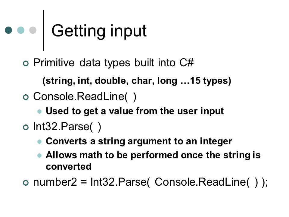 An Introduction To C And The Net Framework Ppt Download