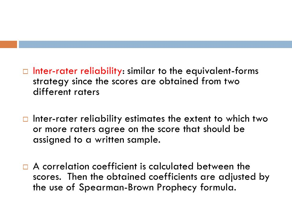 Validity and Reliability - ppt video online download