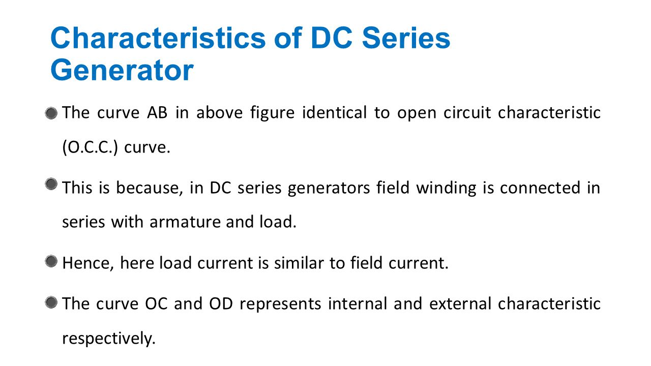 Dc Generator Chapter Ppt Video Online Download Electrical Series Circuit Characteristics Of