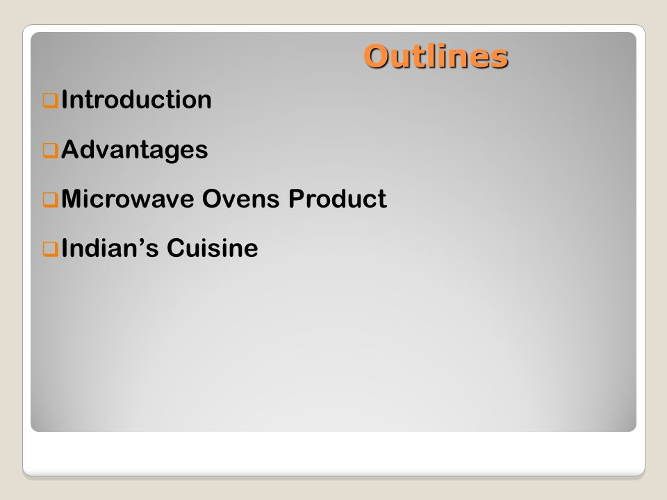 microwave oven in india case study