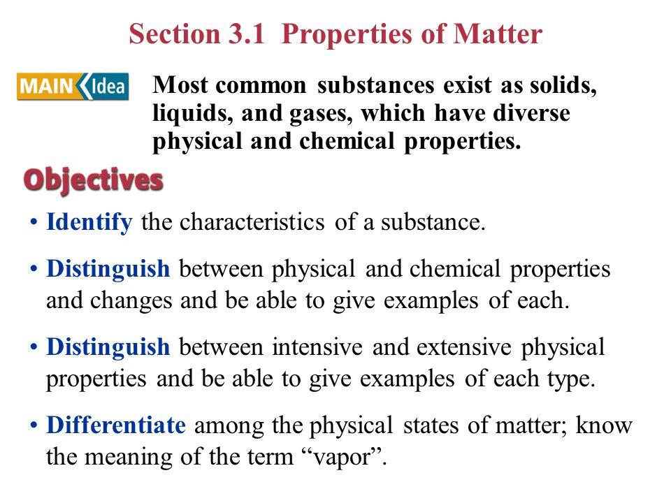 Chapt 3 Matter Properties Change Ppt Download