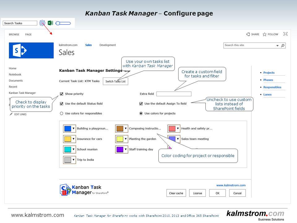 Kanban Task Manager for SharePoint ‒ Introduction - ppt
