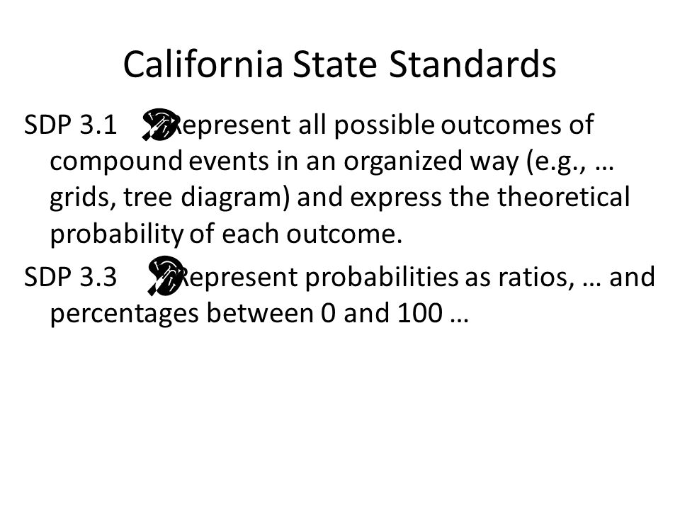 11 5 6th grade math counting methods ppt video online download 3 california state standards ccuart Images