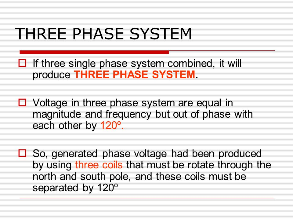 Chapter 1 : Three Phase System  - ppt video online download