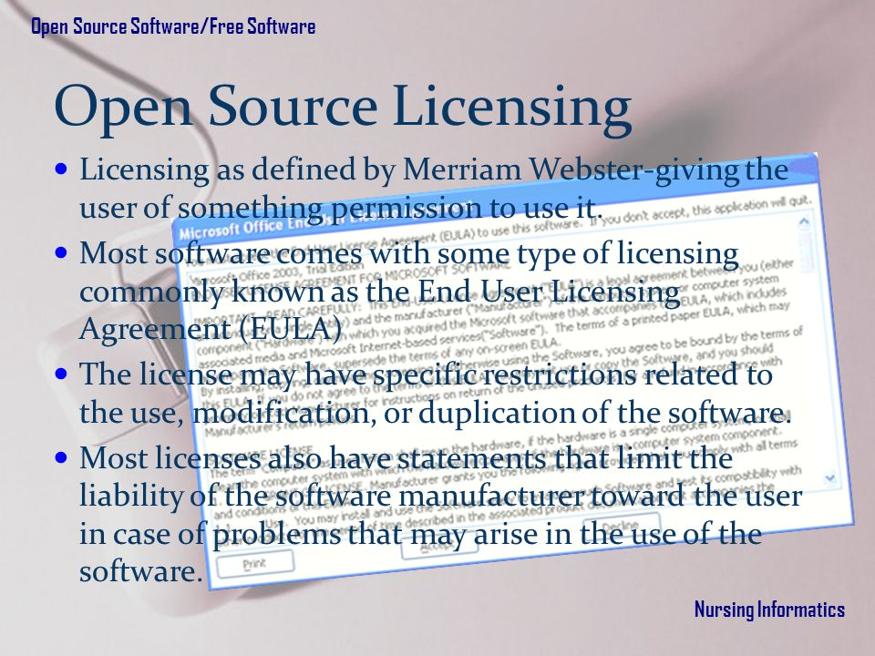 Chapter 6 Open Source Software And Free Software Ppt Download