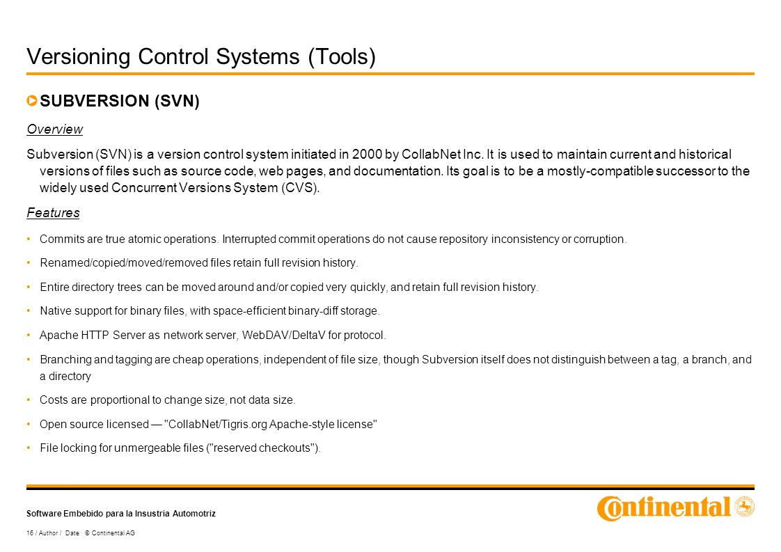 Versioning Control Systems - ppt video online download