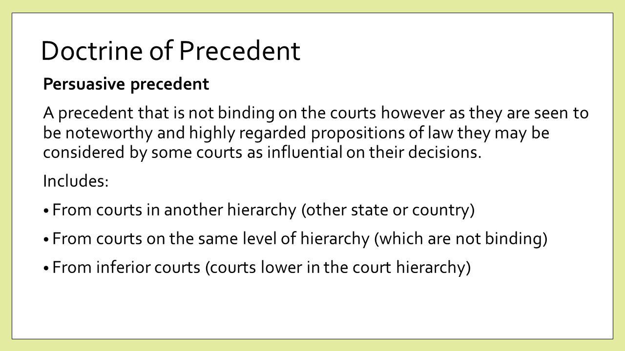 binding precedent uk