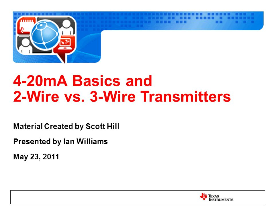 3 wire transmitter wiring diagram 2 wire vs 3 wire transmitters ppt download  2 wire vs 3 wire transmitters ppt