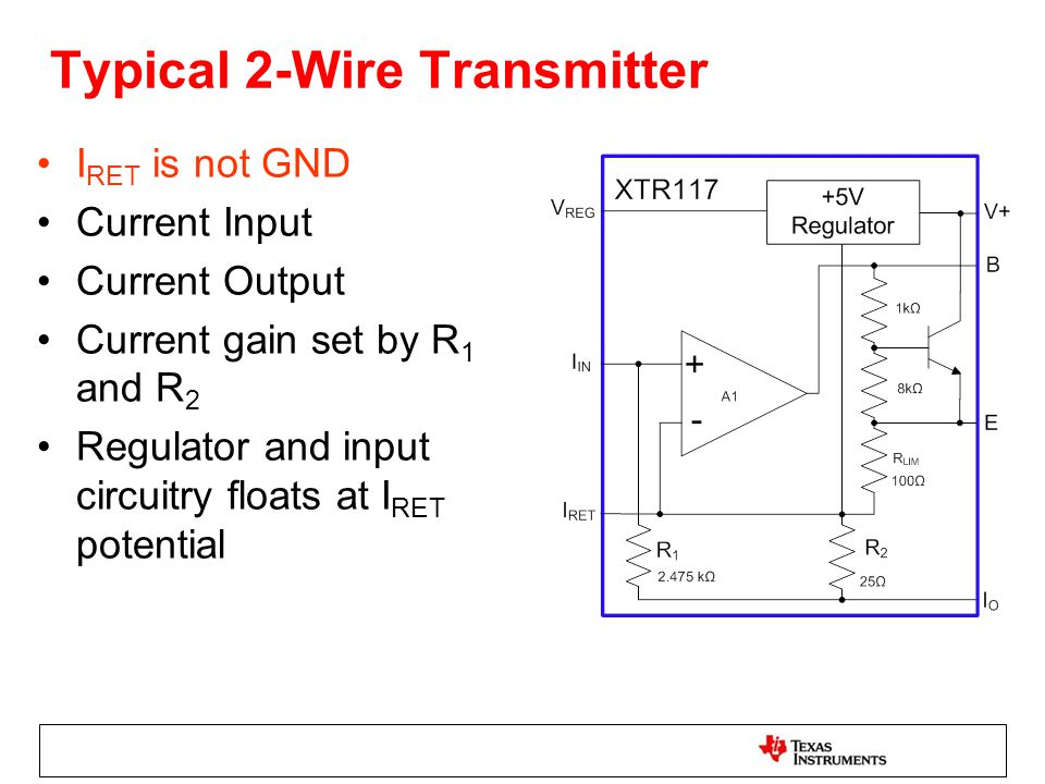 Enjoyable 2 Wire Vs 3 Wire Transmitters Ppt Download Wiring Digital Resources Attrlexorcompassionincorg