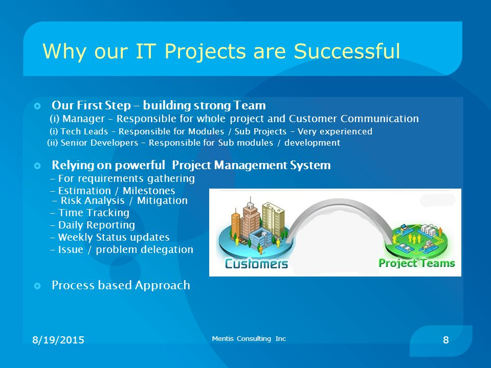 Why our IT Projects are Successful