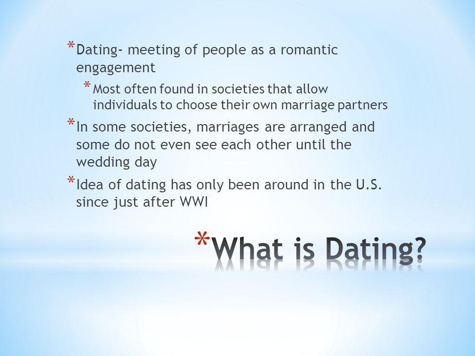 immediate dating