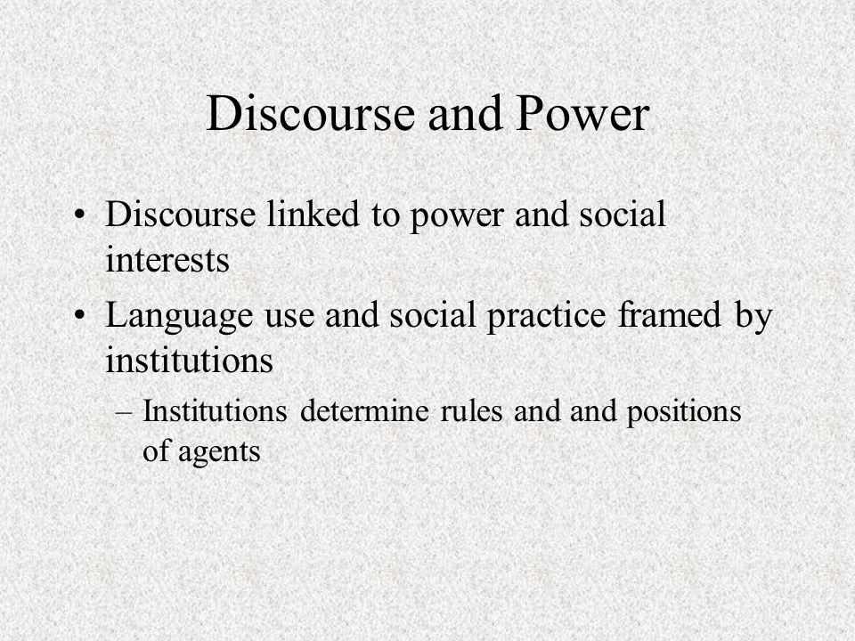 media discourse definition